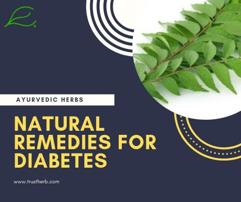 natural remedies for diabetes | Buy Ayurvedic Herbs & Products Online | Certified by Ayurveda Doctors | 100% genuine | Trustherb Ayurvedic products marketplace