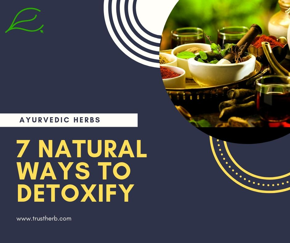 7 ayurvedic and natural ways to detoxify | Buy Ayurvedic Herbs & Products Online | Certified by Ayurveda Doctors | 100% genuine | Trustherb Ayurvedic products marketplace