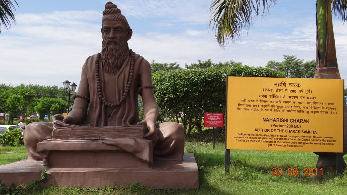 maharishi charaka father of ayurveda